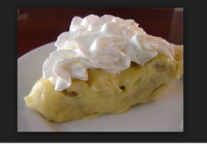 Picture of Banana Creame Pie